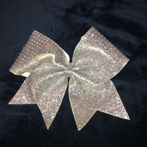 Big Glitter Cheer Bow